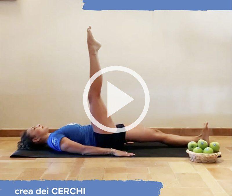 Ricercare la stabilità con due esercizi: one leg circle e il corkscew