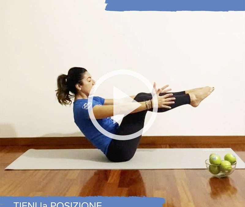 The teaser: un esercizio per addome e bacino