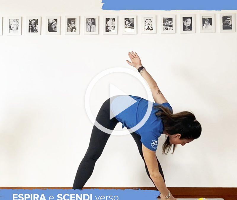 Un corpo più agile con gli esercizi che incrementano la flessibilità